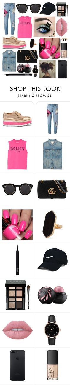 """""""Perfect to you 💞"""" by augusteee ❤ liked on Polyvore featuring Prada, Alexander McQueen, Brian Lichtenberg, rag & bone, Illesteva, Gucci, Jaeger, NARS Cosmetics, Nike Golf and Bobbi Brown Cosmetics"""