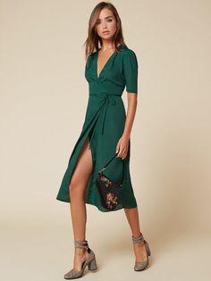The Marta Dress  https://www.thereformation.com/products/marta-dress-emerald?utm_source=pinterest&utm_medium=organic&utm_campaign=PinterestOwnedPins