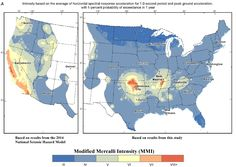 Modern Mapping to Forecast Natural and Human-Induced Earthquakes - Modified Mercalli Index Map