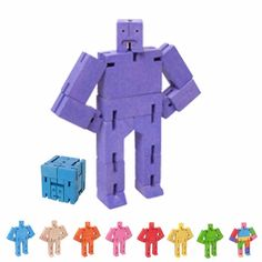 Cubebot Micro violet, Areaware | desiary.de - identity store