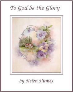 Helen Humes China Painter   Email: handwerker.porcelain@verizon.net