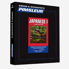 Pimsleur Japanese Level 1 CD: Learn to Speak and Understand Japanese with Pimsleur Language Programs (Comprehensive)