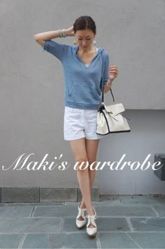 「Maki's wardrobe」の画像|田丸麻紀オフィシャルブログ Power… |Ameba (アメーバ) Japanese Models, Dressed To Kill, Japan Fashion, Saint Laurent Shoes, Minimalist Fashion, Capsule Wardrobe, Her Style, Casual Chic, Summer Outfits