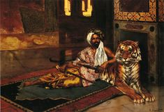 Rudolph-Ernst-xx-The-Sheiks-Favoriite-xx-Private-Collection.jpg (953×652)