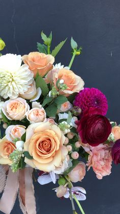 Prettiest Bridal Bouquets with movement, designed by Wilder Floral Co. Prettiest Bridal Bouquets with movement, designed by Wilder Floral Co. Bridal Bouquet Fall, Flower Bouquet Wedding, Bridal Bouquets, Tulip Bouquet, Floral Bouquets, Bouquet Flowers, Red Rose Bouquet, Floral Wreath, Amazing Flowers