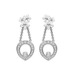 Theo Fennell - Diamond Forget Me Not Tryst Earrings REF: 66704  PRICE: £3,100.00 (Harrods carries)