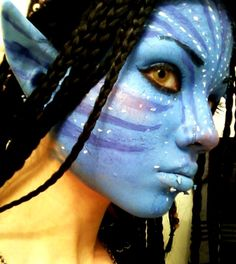 Neytiri Halloween Makeup, Halloween Makeup Ideas for Women, Men and Kids