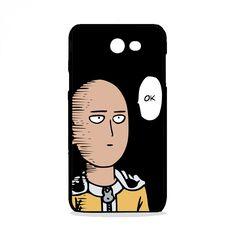 One Punch Man Face Cartoon Head Human Behavior Samsung Galaxy J7 Pro Case | Republicase