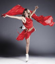 Ekaterina Gordeeva, Battle of the Blades. She's so cute!