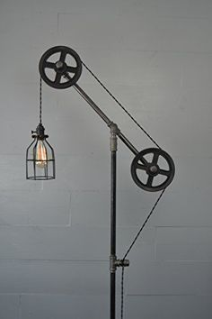 Industrial Floor Lamp West Ninth Vintage