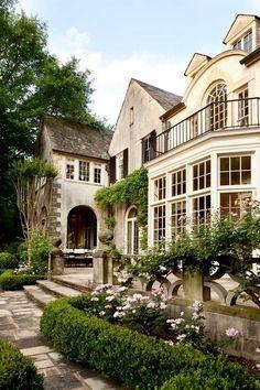 terrace, balcony, stepping stones