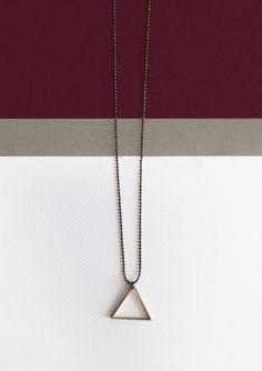 Triángulo bronce (colección invierno 2013/14)  www.facebook.com/sybillebcn