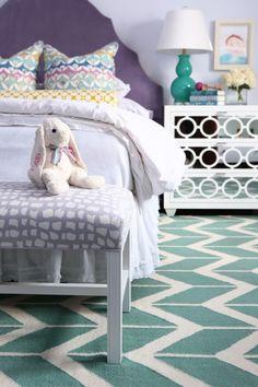 House of Turquoise: Alisha Gwen Interior Design - cute girl's room