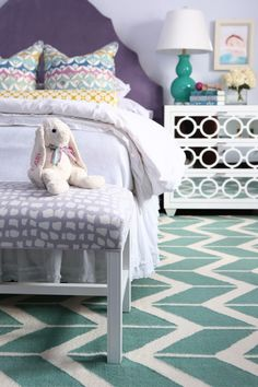 House of Turquoise: Alisha Gwen Interior Design - cute girl's room