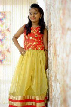 To order, pls WhatsApp on 94929 91857 Baby Lehenga, Kids Lehenga, Party Wear Lehenga, Bollywood Outfits, Skirts For Kids, Ethnic Wear Designer, Ethnic Dress, Prom Dresses, Summer Dresses