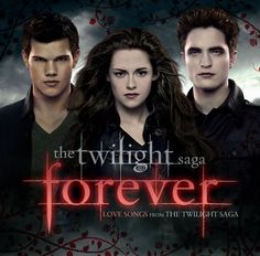 Twilight Forever – Love Songs from The Twilight Saga is being released next month. The soundtrack features all your favourite Love Songs from the series, including songs from Iron & Wine, Bruno Mars, Christina Perri, and Sia.