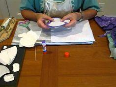 How to prepare hand applique - YouTube
