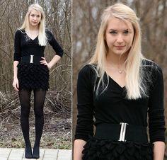 All in black (by Kristiana V) http://lookbook.nu/look/1520579-All-in-black