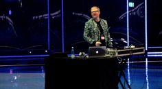 WarmUp Phase vor einer Live Show des 59. Eurovision Song Contest 2014 (B+W Hallerne, Kopenhagen) mit ESC DJ.
