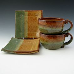 Tea for 2 Giftset - $68  Twisted River Clay