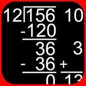 iPad app for Partial Quotients Division