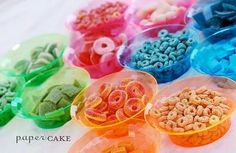 DIY candy necklaces - fun for a party.