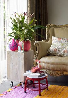 Indoor Plants, Accent Chairs, Interior, Furniture, Home Decor, Inside Plants, Upholstered Chairs, Decoration Home, Indoor