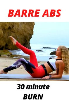 Intense Ab Workout, Best Ab Workout, Barre Workout, Workout Challenge, Workout Videos, Workout For Flat Stomach, Abs Workout For Women, Belly Fat Workout, Hiit Abs