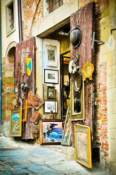 Antique Shop, Arezzo, Italia