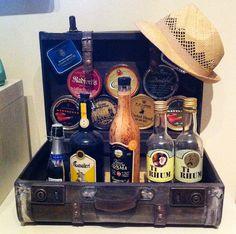 Riciclo creativo valigia