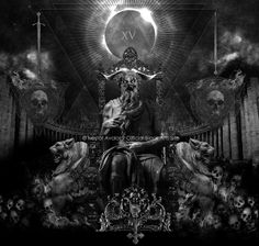 in process - satan's throne - by Nestor Avalos, via Behance