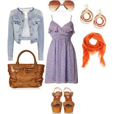 summer, created by jillgadell on Polyvore