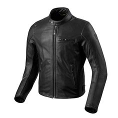 Giacca da moto REV IT! FLATBUSH AIR VINTAGE NERO  a9be31cd2a9