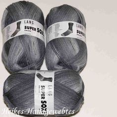 Super Soxx Color 4-fach Dunkelgrau-Hellgrau Lang Yarns Pool Slides, Sandals, Shoes, Fashion, Colors, Knitting And Crocheting, Nice Asses, Moda, Shoes Sandals