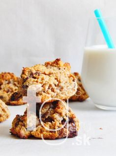 Proteínové cookies s ovesnými vločkami a kokosom