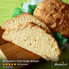 "Brennan's Irish Soda Bread | Allrecipes member irishfishstick calls this recipe a ""Warm and soft Irish tradition passed down our family line—and directly into our bellies."""