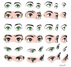 Awesome eye guide https://twitter.com/miyuliart/status/980073513334734849?s=19