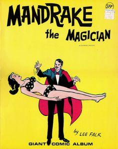 Mandrake o mago  Este é o primeiro super heroi com super poderes. Foi criado por lee falk.  Em 1934 foi sua primeira apariçao.