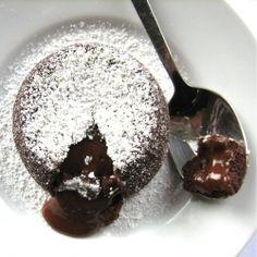 Individual Molten Chocolate Cake