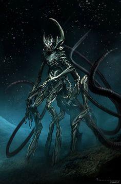 dark art Transformers: Dark of the Moon Concept Art by Aaron Sims Company Alien Concept Art, Concept Art World, Creature Concept Art, Creature Design, Transformers Characters, Transformers Art, Monster Design, Monster Art, Design Set