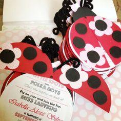 ladybug birthday Inspiring Ideas Pinterest Ladybug Birthdays