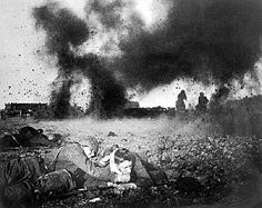Red Army counterattacks outside of Moscow 1941