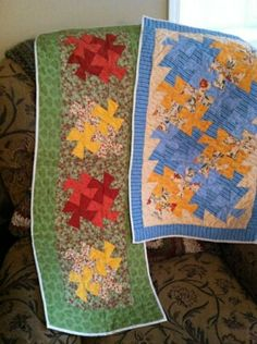 Handmade table runners.  50% of proceeds go to CC3. Pricing to come. Email CampChaos37206@gmail.com for more info.
