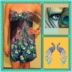 3FOR$20 Peacock Strapless dress Bandeau style rayon multi colored dress. Super cut for summer. Only wore 1-2 times!! Great condition.                      Suggested User Top Rated Seller  Fast Shipper Bundle Feature  Pet/Smoke Free Home PayPal/Trades ⚠️ASK ABOUT MY BUYERS REWARD PROGRAM⚠️ SILVERGATE 1 Dresses Strapless