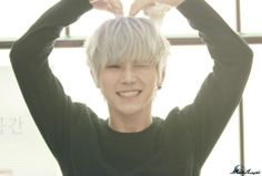 Hansol 한솔 from Topp Dogg 탑독 I would sell my soul for you-- pretty much. He is adorable