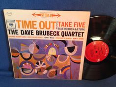 RARE Vintage The Dave Brubeck Quartet  Time Out by sweetleafvinyl