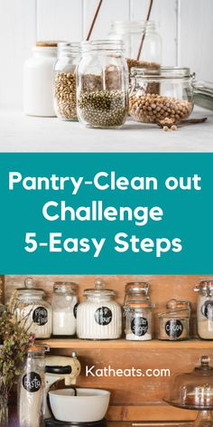 Clean-out your pantry in Here's what you can do to save some money and organize your pantry