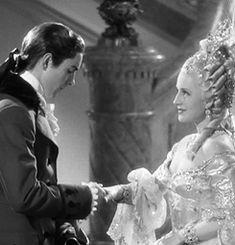 Tyrone Power and Norma Shearer in Marie Antoinette  (W.S. Van Dyke, 1938)