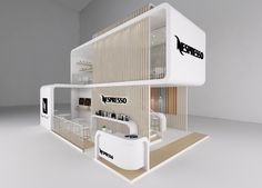 """Check out this @Behance project: """"Nespresso Exhibition Stand"""" https://www.behance.net/gallery/28782793/Nespresso-Exhibition-Stand"""