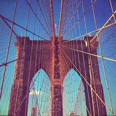 #brooklynbridge #nyc #newyork Brooklyn Bridge, Nyc, Photo And Video, Photography, Travel, Instagram, Photograph, Viajes, Fotografie
